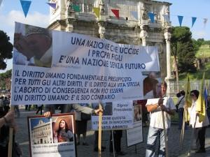 Pochod za život v Ríme. LifeSiteNews